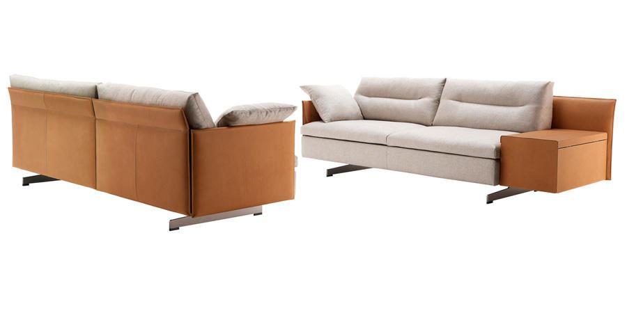 Sofa grantorino angulaire poltrona frau ronchi abitare for Abitare furniture