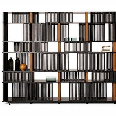 Sistema di contenitori e librerie Lloyd Poltrona Frau ant