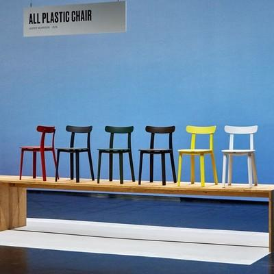 all plastic chair vitra ant